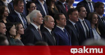 Представители на обединената руска партия