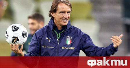 Националният селекционер на Италия Роберто Манчини призова УЕФА да увеличи