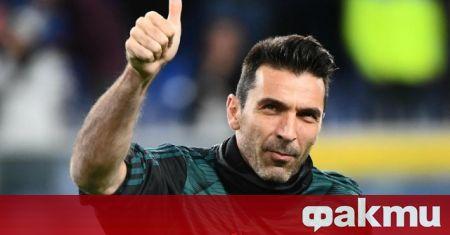 Легендарният вратар Джанлуиджи Буфон беше представен пред италианските медии като