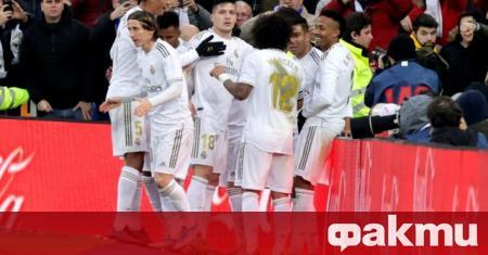 Спортистите от футболните и баскетболните отбори на Реал Мадрид официално