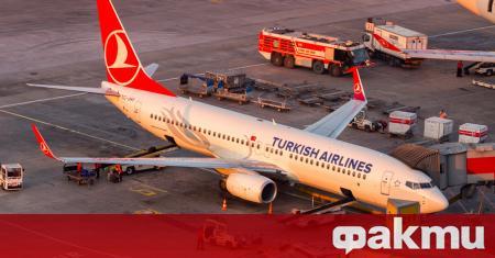 Turkish Airlines, която спря почти всички свои пътнически полети в