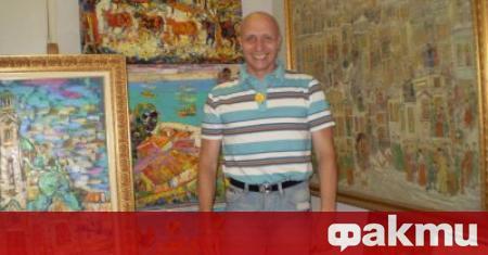 След тежко боледуване почина известният наш художник Михаил Камберов, съобщава