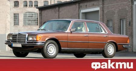 Рядък Mercedes-Benz 450 SEL 6.9 ще бъде предложен на търг