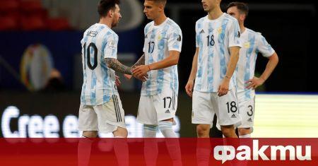 Аржентина записа минимална победа с 1:0 над Парагвай в двубой