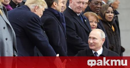 Президентът на САЩ Доналд Тръмп Путин разговаря по телефона днес