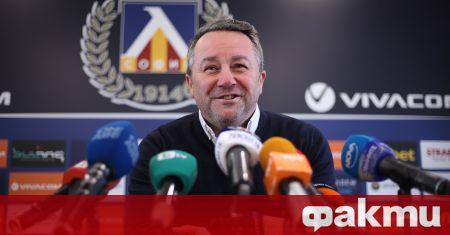 Треньорът на ''Левски'' Славиша Стоянович даде пресконференция преди домакинството на
