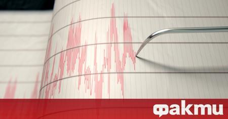 Ново земетресение с магнитуд 4,6 е било регистрирано в Егейско