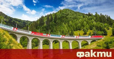 """Седловината Юнгфрау в швейцарските Алпи се смята за """"покрива на"""