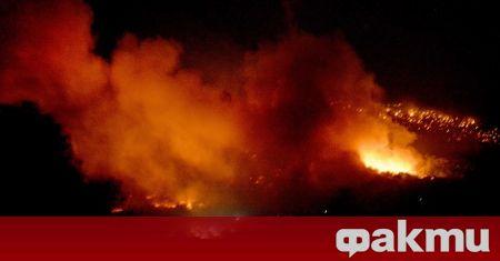 Експлозия в химически завод в Северен Илинойс предизвика огромен пожар