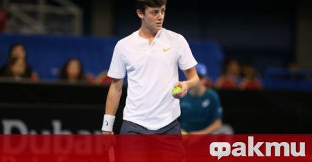 Шампионът на България по тенис на открито и национал за