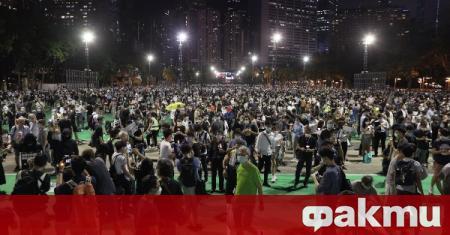 Граждани бяха арестувани при протест в Хонконг, съобщи РИА Новости.