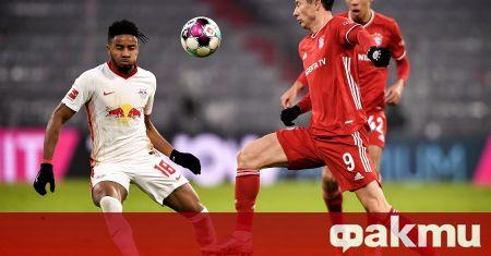 Отборите на Байерн Мюнхен и РБ Лайцпиг записаха атрактивно 3:3
