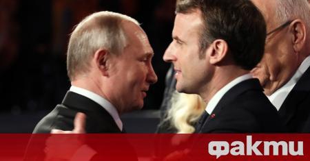 Русия ще покани френския президент Еманюел Макрон на военния парад