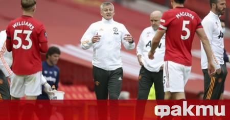 Мениджърът на Манчестър Юнайтед Оле Гунар Солскяер обяви, че целта