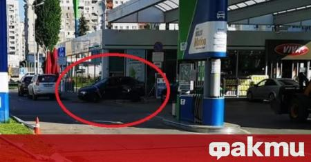 Тежка катастрофа е станала на бензиностанция в ж. к.