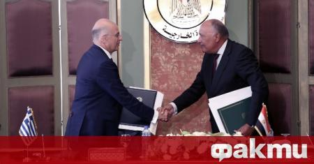 Гърция и Египет обявиха ново споразумение за изключителните икономически зони
