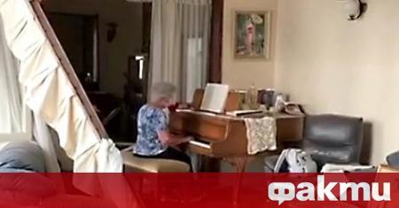 Жителката на Бейрут Хода Мелки засне трогателно видео, на което