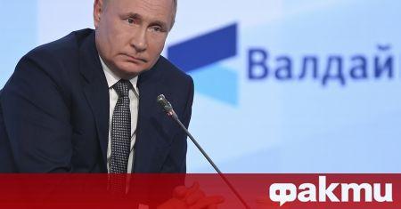 Руският държавен глава отправи поздрави към нобеловия лауреат Дмитрий Муратов,