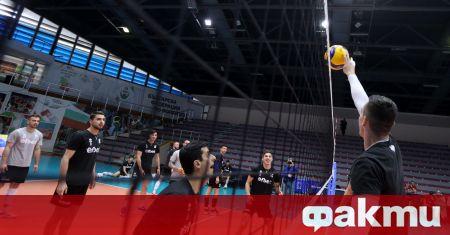 Националният отбор на България по волейбол отново загуби Лигата на