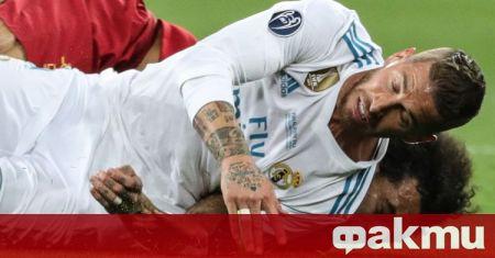 Капитанът на Реал Мадрид Серхио Рамос е дал положителен резултат