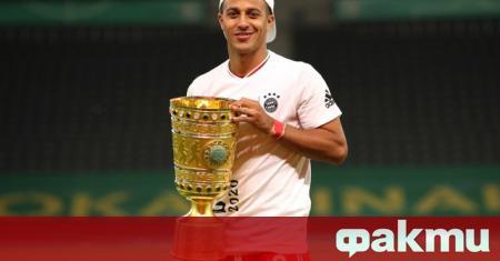 Халфът на Байерн (Мюнхен) Тиаго Алкантара се сбогува с клуба