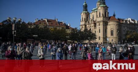 В събота Чехия регистрира рекордните 15 252 случая на коронавирус