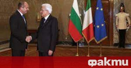 Продължава посещението на президентът Румен Радев в Италия, информира NOVA.