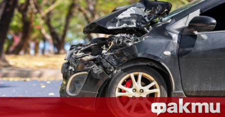 Тежка катастрофа е станала преди минути на пътя Бургас-Айтос в