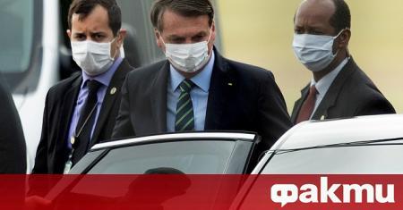 Крайнодесният президент на Бразилия Жаир Болсонаро отново призова за разхлабване