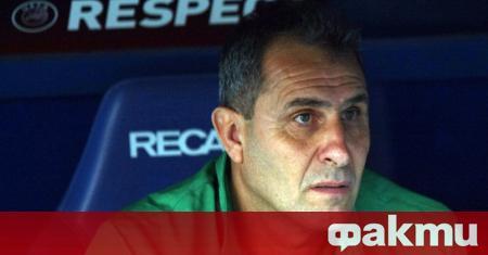 Треньорът на Берое Димитър Димитров коментира загубата от Лудогорец с