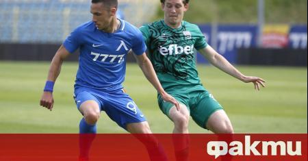 Юношата на Левски Ивайло Найденов е получил похвали от треньора