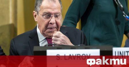 Руският министър на външните работи Сергей Лавров обвини западните страни,