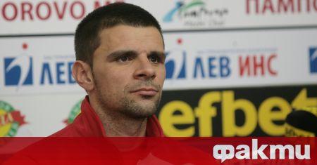 Бившият защитник на ЦСКА и настоящ помощник-треньор на Царско село