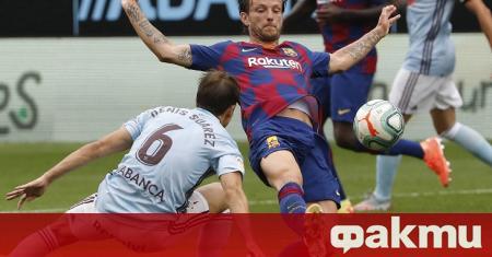 Отборът на Барселона се издъни при гостуването си на Селта