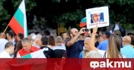 72-рата вечер на антиправителствен протест в столицата премина мирно, без
