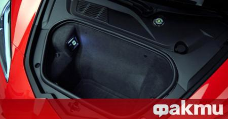 Багажникът на Chevrolet Corvette от моделната 2020 г. може да