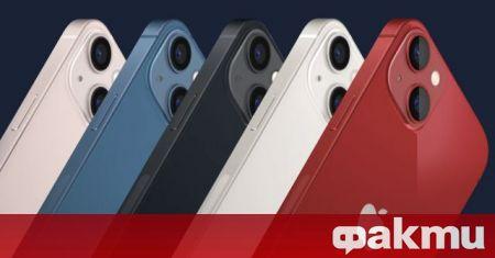 Apple анонсира новото поколение iPhone 13 и 13 Pro на