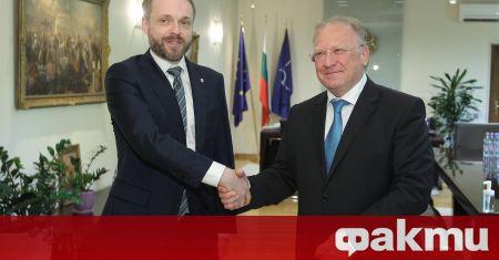 Министърът на външните работи Светлан Стоев и чешкият му колега