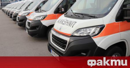 Специализирана реанимационна линейка пътува към болницата в Разлог, където в