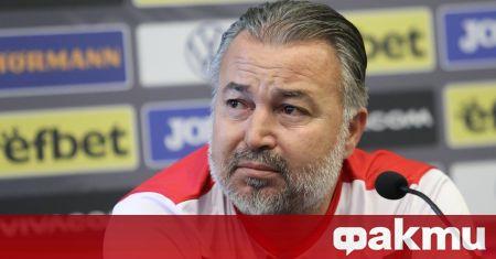 Селекционерът на българския национален отбор Ясен Петров остана доволен от