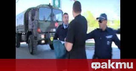 Активисти на партия АТАКА блокираха за около час турски военен