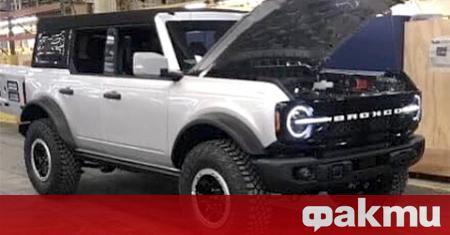 Отложеният заради коронавируса дебют на новото поколение Ford Bronco ще