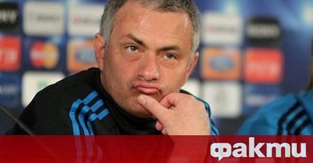 Мениджърът на Тотнъм Жозе Моуриньо напусна вбесен онлайн пресконференцията след