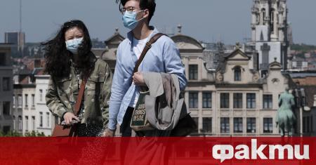 От днес носенето на медицинска маска в Брюксел е задължително,