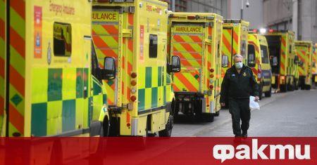 Великобритания регистрира най-много починали от COVID-19 за едно денонощие от
