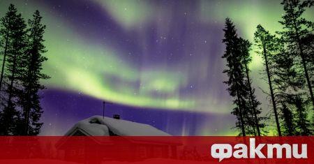 Едно от най-красивите небесни явления - Северното сияние /Aurora borealis/