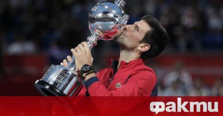 Лидерът в световната ранглиста на мъжкия тенис Новак Джокович проведе