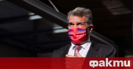 Жоан Лапорта спечели изборите за президент на Барселона, след като