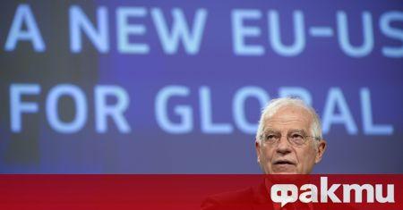 Върховният европейски представител по външните работи Жозеп Борел призова да