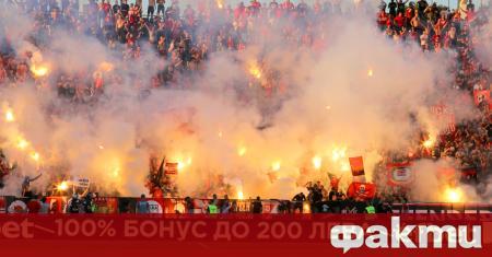 Нарушаването на правилата за социална дистанция от привържениците на ЦСКА